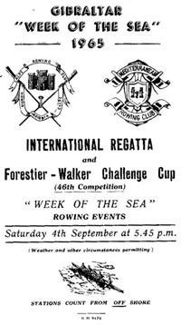 Gibraltar Regatta 1965